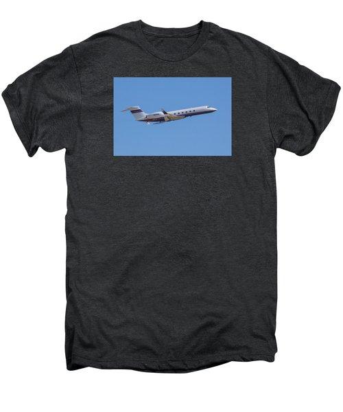 Gulfstream Gv Private Jet Men's Premium T-Shirt