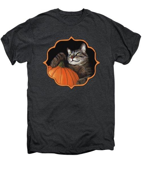 Halloween Cat Men's Premium T-Shirt