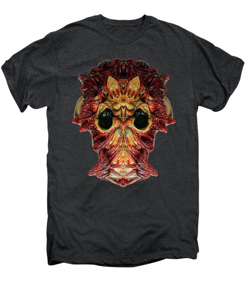 Halloween Mask 01214 Men's Premium T-Shirt