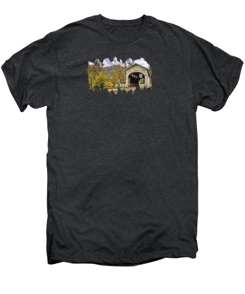 Harris Covered Bridge Men's Premium T-Shirt