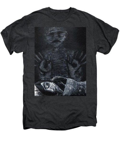 Haunted Men's Premium T-Shirt by Teresa Wing