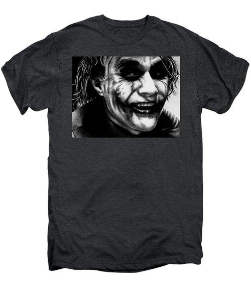 Heath Ledger Joker Men's Premium T-Shirt