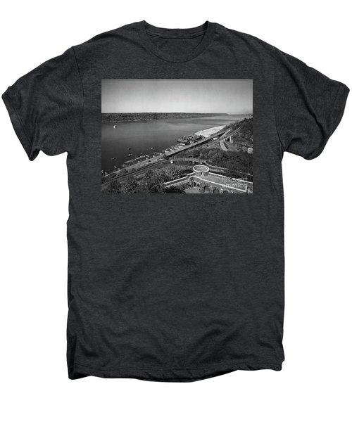 Henry Hudson Parkway, 1936 Men's Premium T-Shirt by Cole Thompson