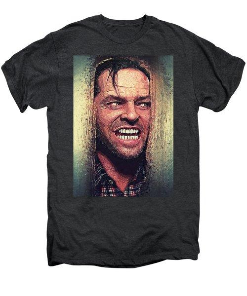 Here's Johnny - The Shining  Men's Premium T-Shirt