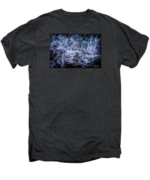 Heron Falls Men's Premium T-Shirt by Rikk Flohr