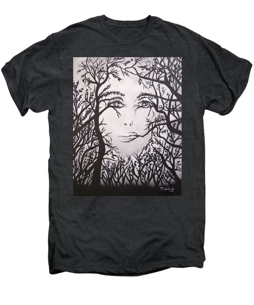 Hidden Face Men's Premium T-Shirt