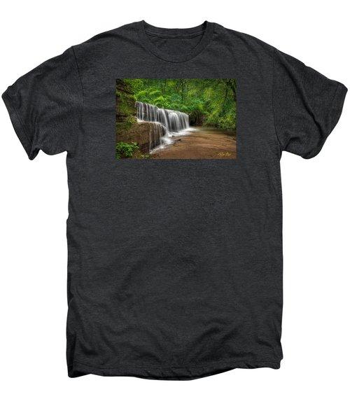 Hidden Falls  Men's Premium T-Shirt by Rikk Flohr