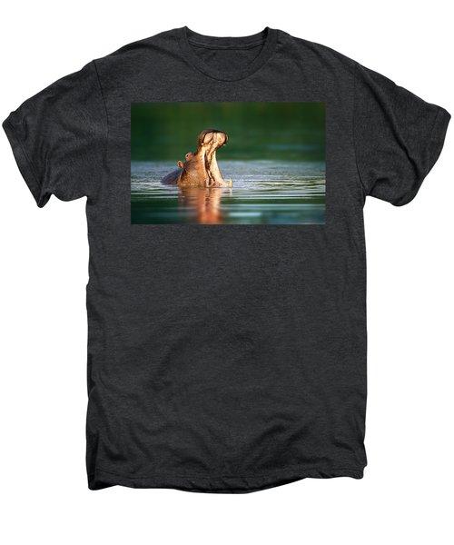 Hippopotamus Men's Premium T-Shirt
