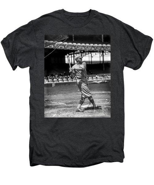 Home Run Babe Ruth Men's Premium T-Shirt by Jon Neidert