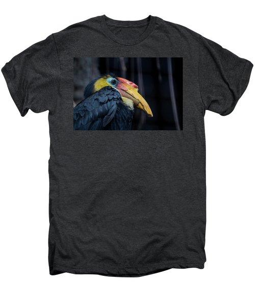 Hornbilled Bird Men's Premium T-Shirt