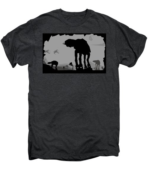 Hoth Machines Men's Premium T-Shirt by Michael Bergman