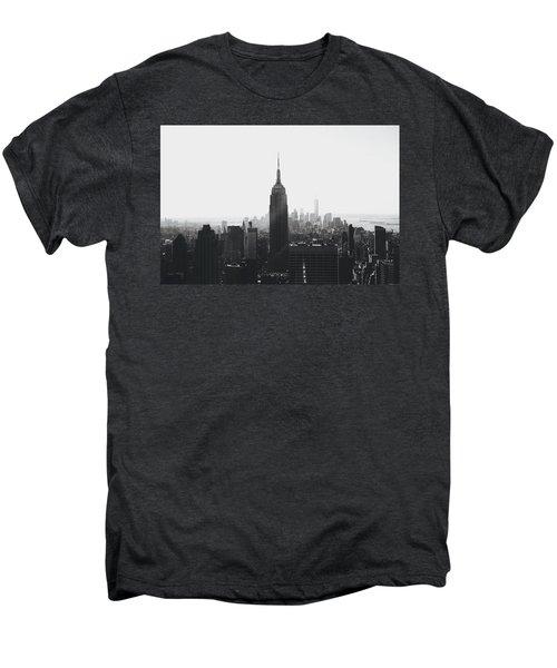 I'll Take Manhattan  Men's Premium T-Shirt by J Montrice