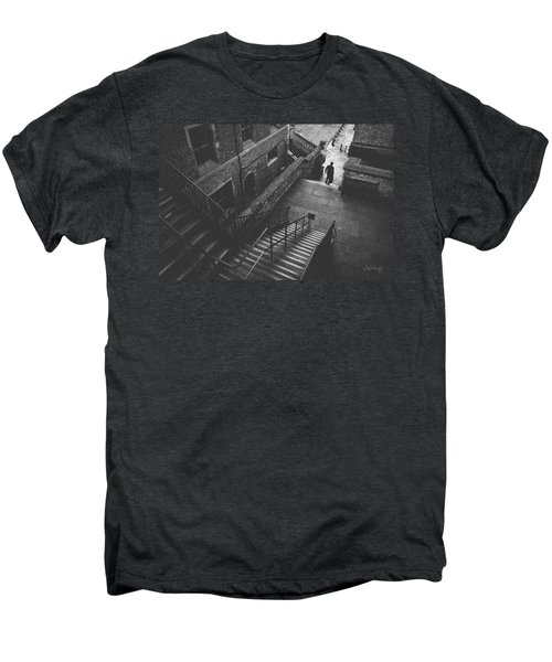 In Pursuit Of The Devil On The Stairs Men's Premium T-Shirt