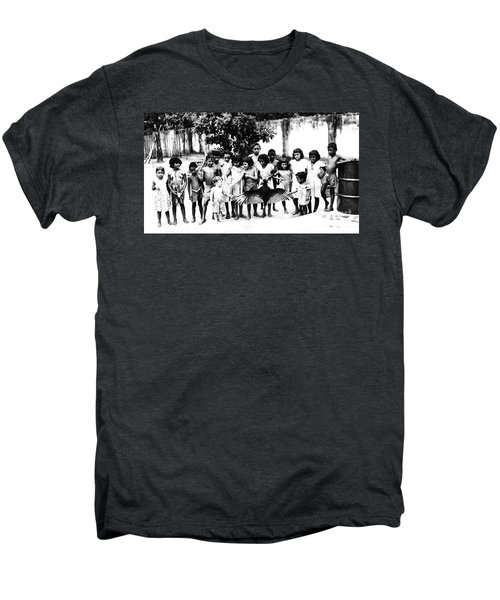 In The Amazon 1953 Men's Premium T-Shirt by W E Loft