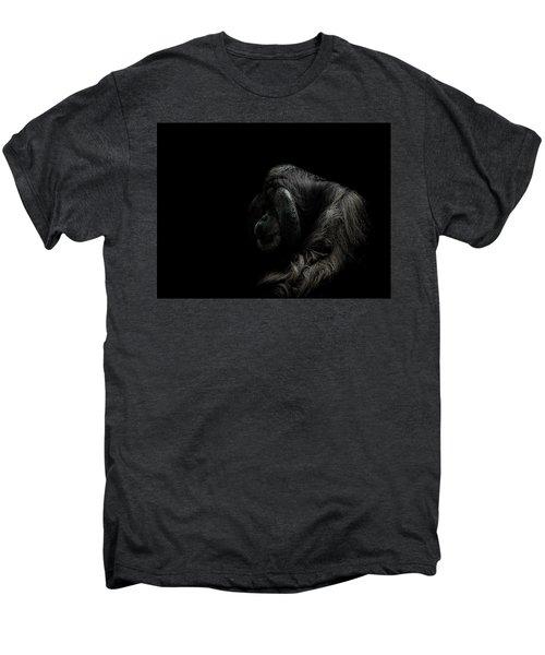 Insecurity Men's Premium T-Shirt by Paul Neville