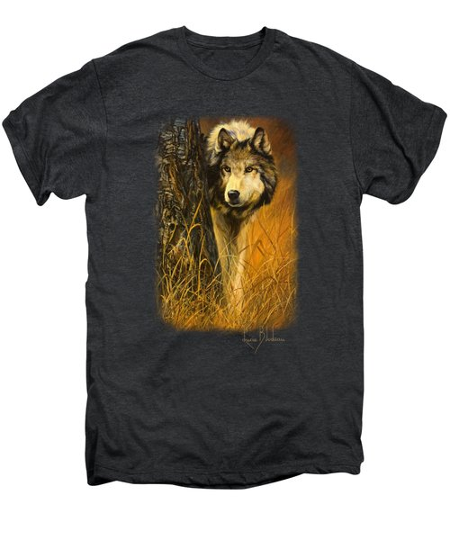 Interested Men's Premium T-Shirt by Lucie Bilodeau