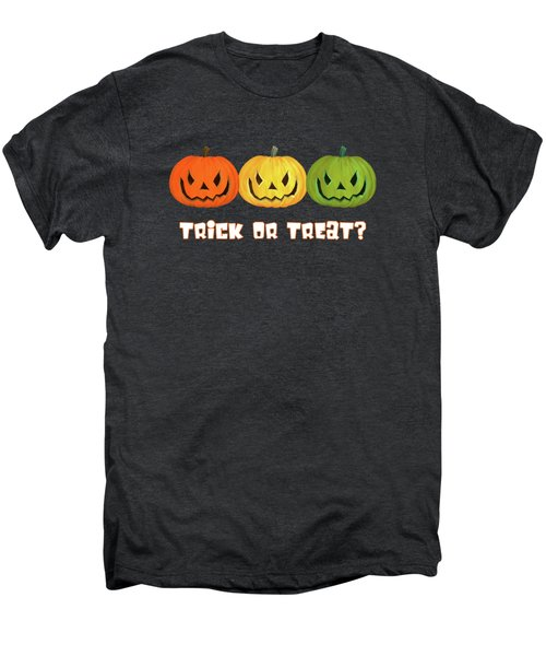 Jack-o-lanterns Men's Premium T-Shirt by Methune Hively