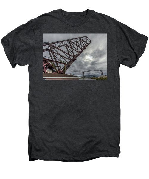 Jackknife Bridge To The Clouds Men's Premium T-Shirt