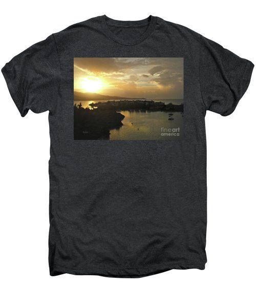 Jamaica Sunset Bay Men's Premium T-Shirt