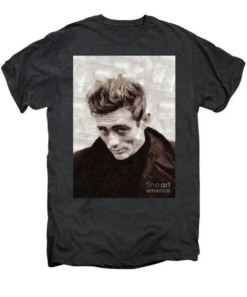 James Dean By Mary Bassett Men's Premium T-Shirt