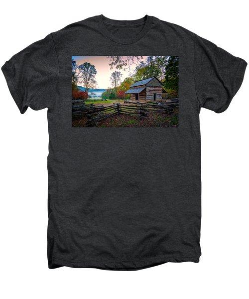 John Oliver Place In Cades Cove Men's Premium T-Shirt