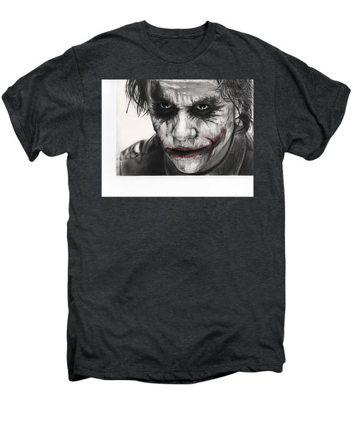 Joker Face Men's Premium T-Shirt by James Holko