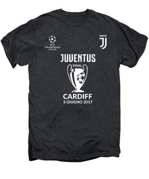 Juventus Final Champions League Cardiff 2017 Men's Premium T-Shirt by Ipoy Juki