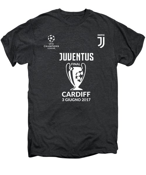 Juventus Final Champions League Cardiff 2017 Men's Premium T-Shirt