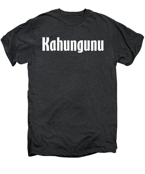 Kahungunu Men's Premium T-Shirt by Regan Butler