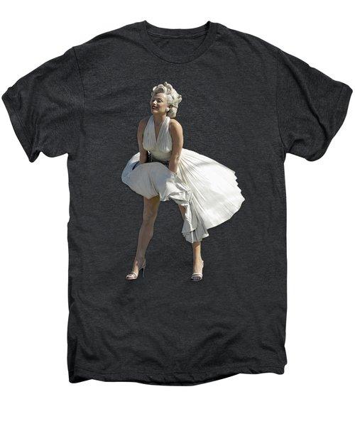 Key West Marilyn - Special Edition Men's Premium T-Shirt by Bob Slitzan