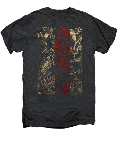 Kingdom Of The Golden Amphibians Men's Premium T-Shirt by Serge Averbukh