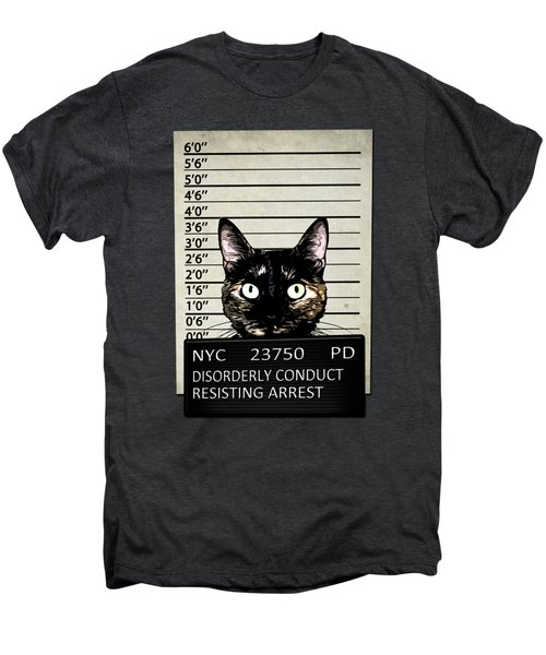Kitty Mugshot Men's Premium T-Shirt