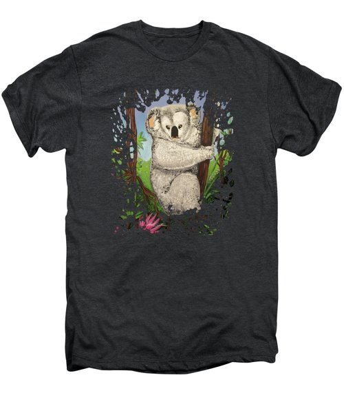 Koala Men's Premium T-Shirt by Adam Santana