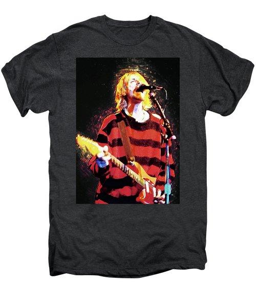 Kurt Cobain Men's Premium T-Shirt