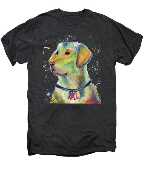 Labrador Retriever Art Men's Premium T-Shirt