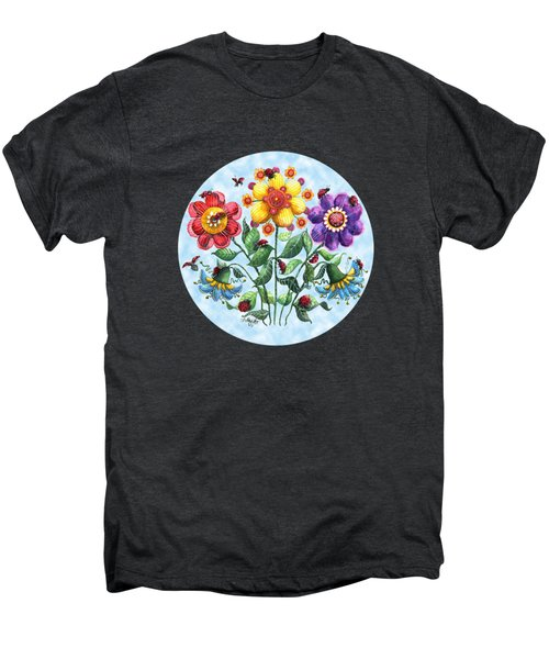 Ladybug Playground On A Summer Day Men's Premium T-Shirt by Shelley Wallace Ylst