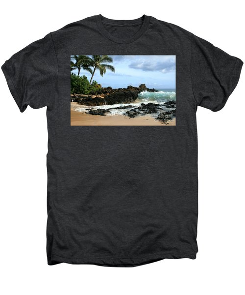 Lapiz Lazuli Stone Aloha Paako Aviaka Men's Premium T-Shirt by Sharon Mau