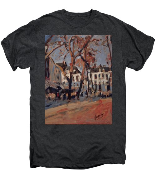 Last Sunbeams Our Lady Square Maastricht Men's Premium T-Shirt by Nop Briex