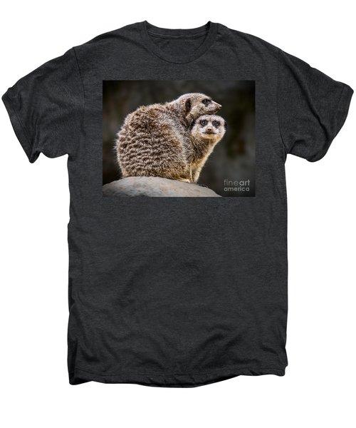 Lean On Me Men's Premium T-Shirt by Jamie Pham