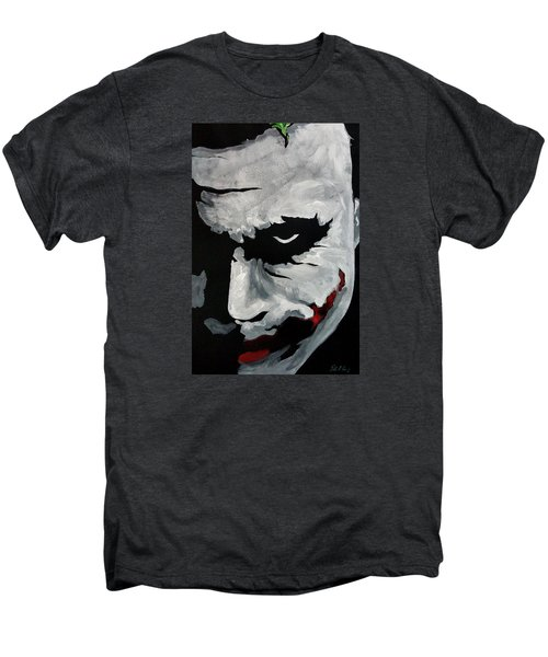 Ledger's Joker Men's Premium T-Shirt by Dale Loos Jr