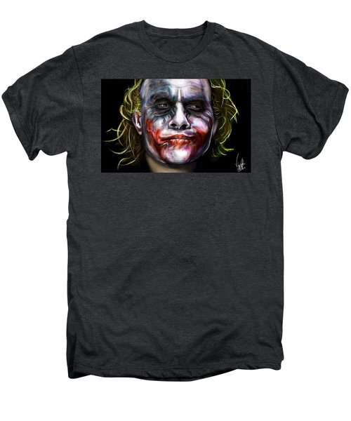 Let's Put A Smile On That Face Men's Premium T-Shirt by Vinny John Usuriello