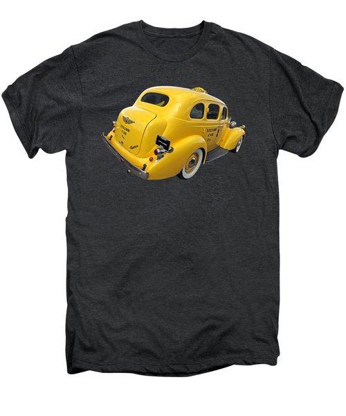 Let's Ride - Studebaker Yellow Cab Men's Premium T-Shirt by Gill Billington