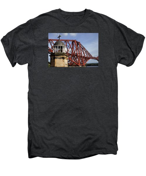 Men's Premium T-Shirt featuring the photograph Light Tower by Jeremy Lavender Photography