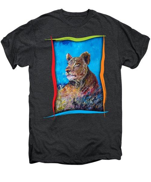 Lioness Pride Men's Premium T-Shirt