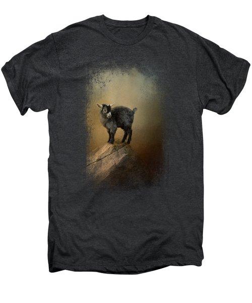 Little Rock Climber Men's Premium T-Shirt by Jai Johnson
