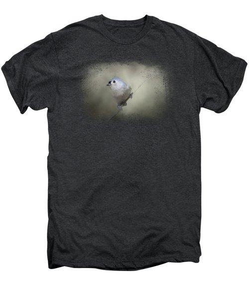 Little Tufted Titmouse Men's Premium T-Shirt