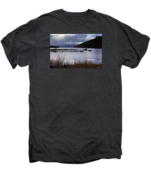 Men's Premium T-Shirt featuring the photograph Loch Lomond by Jeremy Lavender Photography