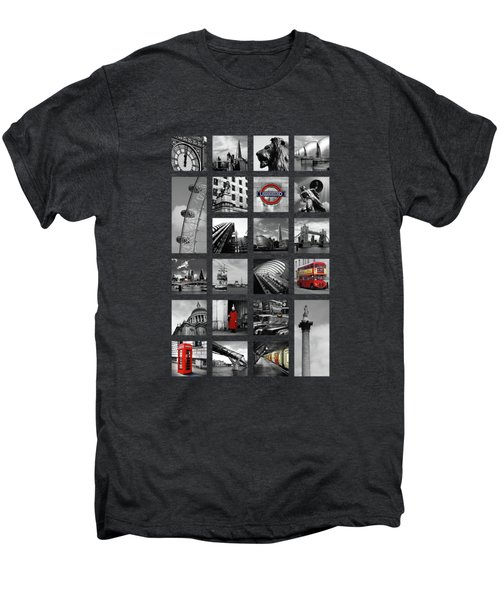 London Squares Men's Premium T-Shirt by Mark Rogan