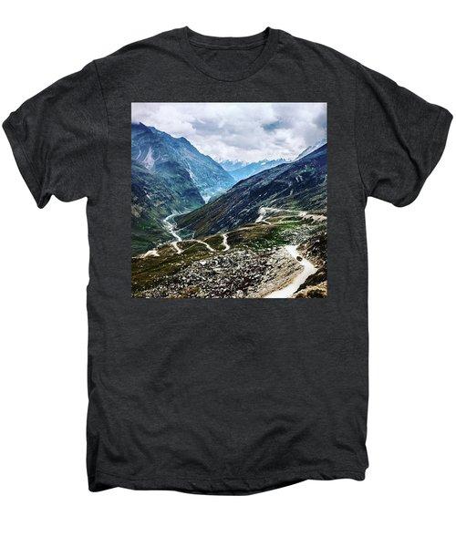 Long And Winding Roads Men's Premium T-Shirt