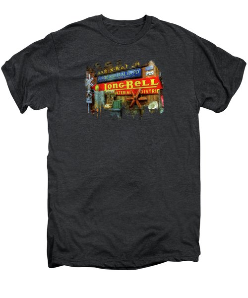 Long Bell  Men's Premium T-Shirt